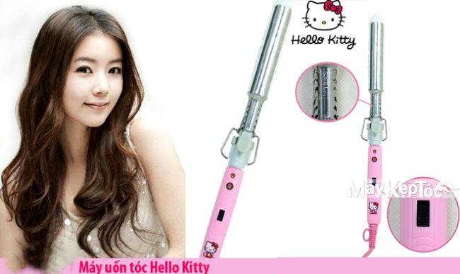 may kep toc, may kep toc hello kitty, may uon toc gia re, may uon toc